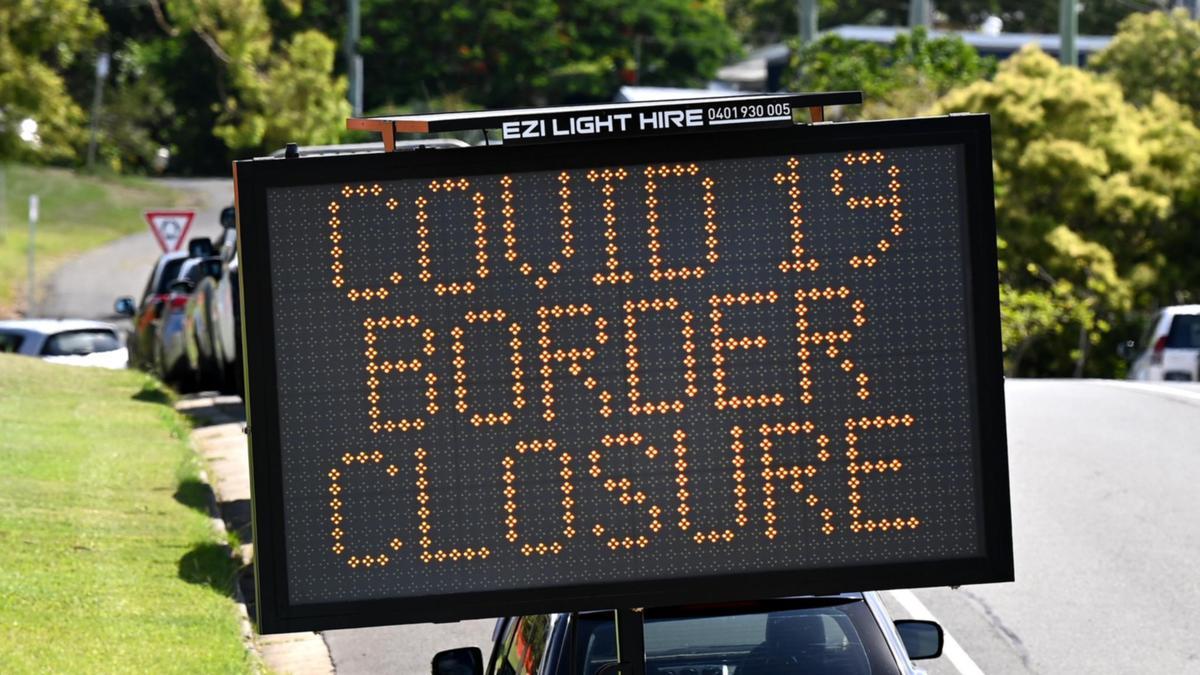 Covid border closure