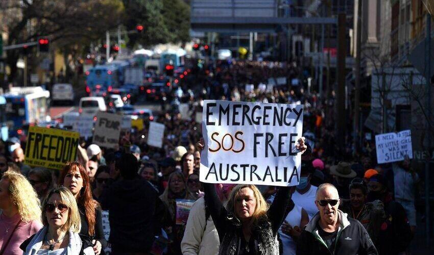 sydney freedom protest