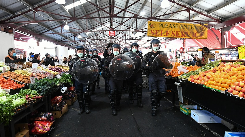 markets and police