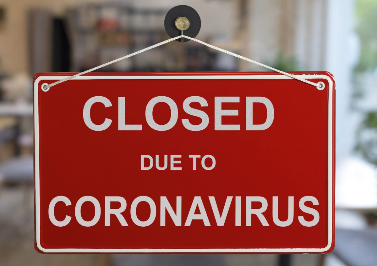 corona closure